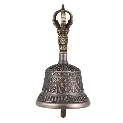 Buy Premium Handcrafted Tibetan Meditation Singing Bell Dorje Vajra Bronze Temple Buddhism Buddhist Practice Instrument