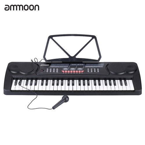 Buy 54 Keys Multifunctional Digital Electronic Music Keyboard Electric Piano Organ Sheet Holder Microphone Gift Children Beginners Lovers