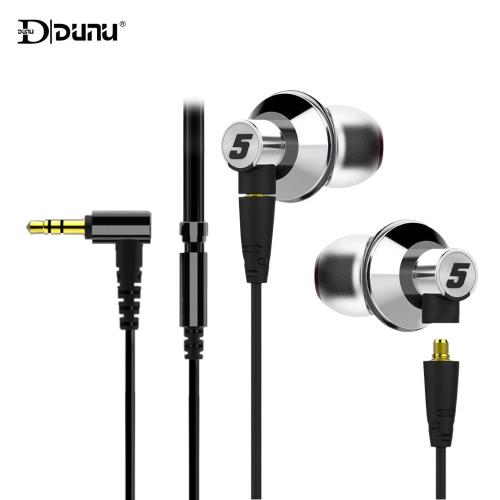 Buy DUNU TITAN 5 In-ear Wired Earphone Headset Headphone Detachable Cable Design Stereo 3.5mm Audio Plug Earbuds 6.35mm Adapter Storage Box iPhone 6s Plus iPad Samsung Xiaomi Smartphone