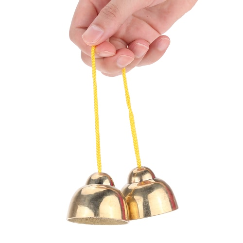 Buy Golden String Touching Jingle Bell Early Educational Musical Percussion Instrument Toy Gift Baby Kid Child Christmas