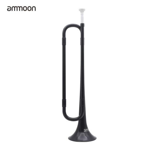 Buy ammoon B Flat Bugle Cavalry Trumpet Environmentally Friendly Plastic Mouthpiece Band School Student