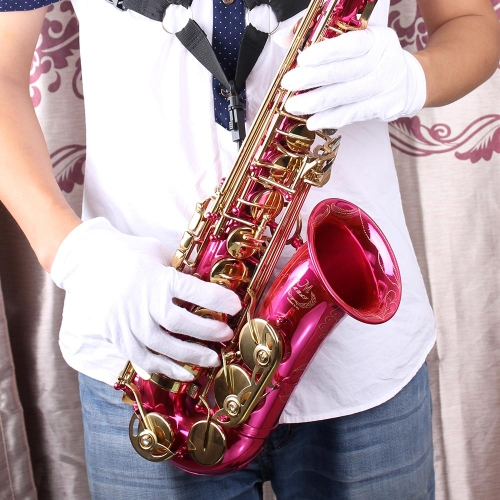 Musical Instrument White Performance Golves for Saxphone Trumpet Flute Clarinet Marching Bands от Tomtop.com INT