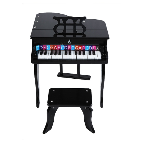 Buy 30 Keys Hardwood Learn-To-Play Piano Musical Instrument Toy Gift Bench Kid Child Baby Beginner Amateur