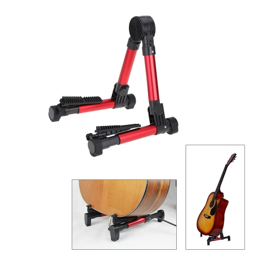 Buy Ziko DG-01A Foldable Stand A-frame Holder Bracket Mount Aluminum Alloy Light-weight Guitar Bass Stringed Instrument Universal Compact Space-saving