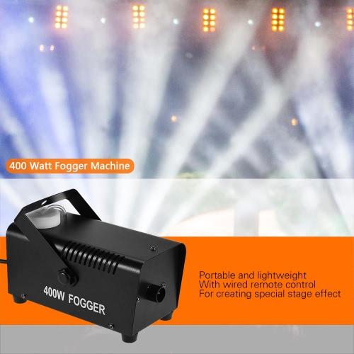 Buy 400 Watt Fogger Fog Smoke Machine Wired Remote Contol Party Live Concert DJ Bar KTV Stage Effect