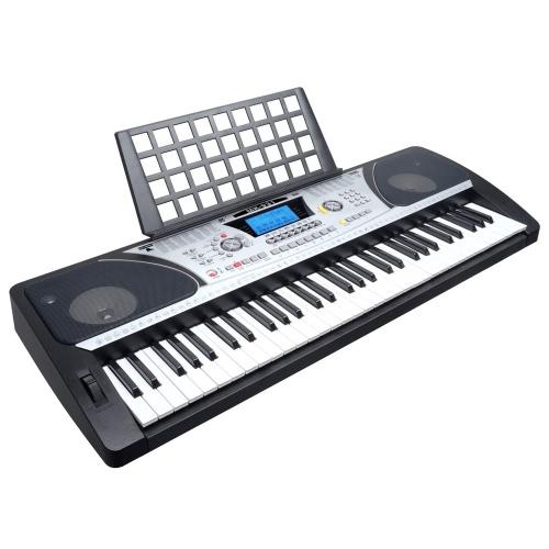Buy Meike MK-931 Dual-Keyboard Teaching-Type 61 Keys Electronic Electric Keyboard Piano Organ Touch Response Function LCD Display Screen & Music Sheet Holder