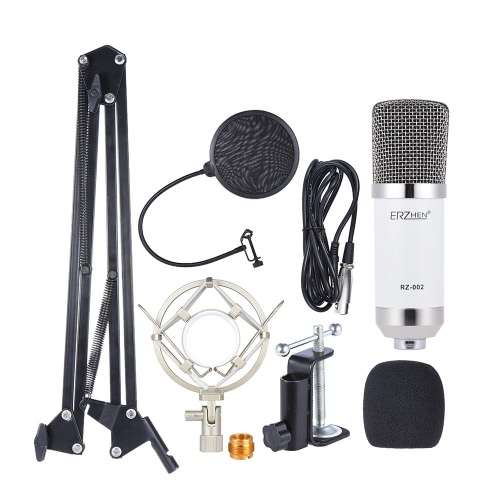 $5 OFF Professional Broadcasting Studio Recording Condenser Kit,free shipping $31.99