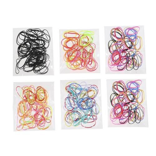 Buy 30Beauty Accessories Colorful Rubber Hairband Rope Ponytail Holder Elastic Women Hair Band Ties