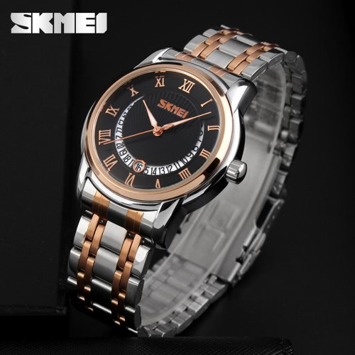 Buy SKMEI 2016 Fashion 30M Waterproof Dress Watches Men Business Quartz Watch Classic Luxury Wristwatch Black