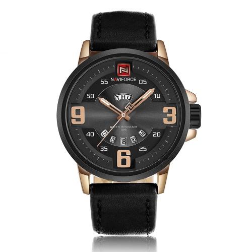 Buy NAVIFORCE 2017 Luminous Quartz Fashion Men Casual Wristwatch 30M Water-Proof Cool Man Watches Masculino Relogio