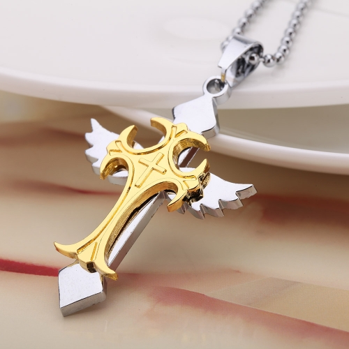 Fashion Personalized Cowboy Hat Pendant Necklace Chain Vintage Retro Punk Man Womem Jewelry Accessory от Tomtop.com INT