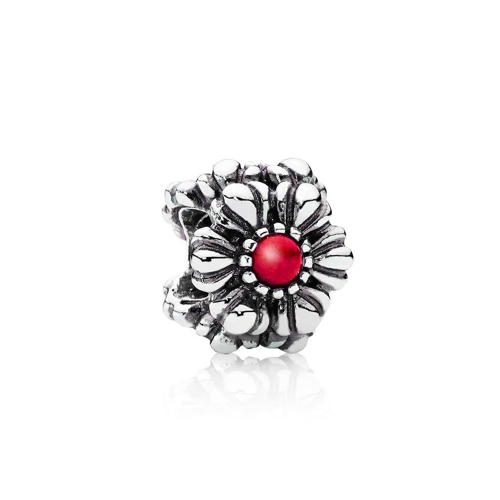 Romacci Sunflower Charm with CZ Diamond Beads S925 Sterling Silver for European Bracelet DIY Women Jewelry от Tomtop.com INT