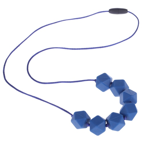 100% Food Grade Teething Teether Necklace Soft Beads for Chew Baby Toddler Nursing Jewelry Toy for Mom to Wear BPA Free от Tomtop.com INT