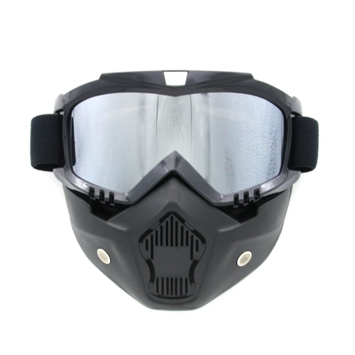 Buy Motorcycle Cross Country Mask Goggles Windproof Breathable Riding Outdoor Sports Mirror Glasses