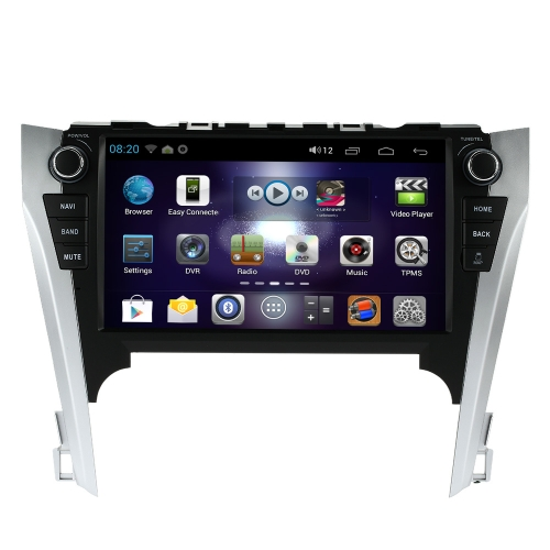 Buy 10.1 Inch HD Digital Touch Screen Car Multimedia Player Andriod GPS Navigation Dash 2 Din Double Radio Bluetooth PC Stereo Head Unit Toyota Camry 2012 +Free Card Map