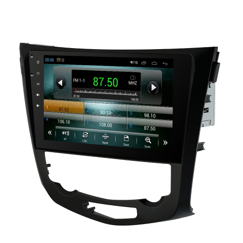 Buy 10.1 Inch HD Digital Touch Screen Car Multimedia Player Andriod GPS Navigation Dash 2 Din Double Radio Bluetooth PC Stereo Head Unit Nissan Qashqai X-Trail 2014 +Free Card Map