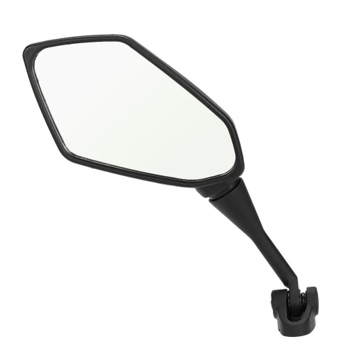One Pair of Rear View Mirror Side View Mirrors Universal for Motorcycle Racing Bike ATV