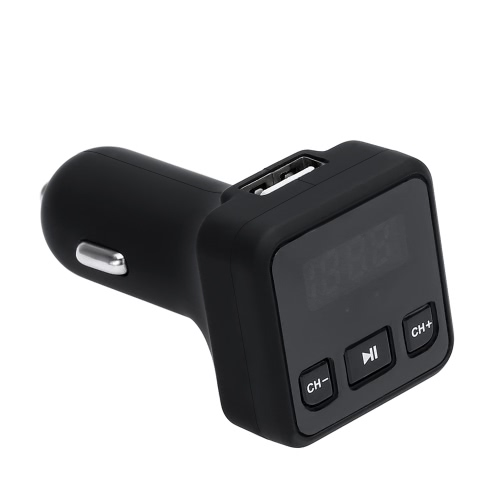 Buy KKmoon Car Bluetooth Audio Receiver Wireless Music Playing Hands Free Phone Call USB Charger FM Transmitter