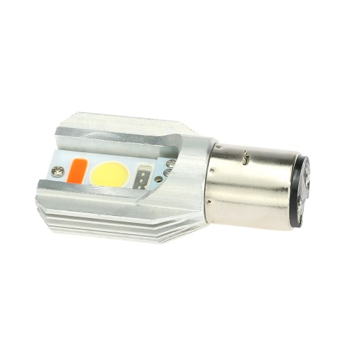 Universal LED Motorcycle Headlight Blub 12W 1500LM COB All in One Head Lamp for Motorbike 12V 24V