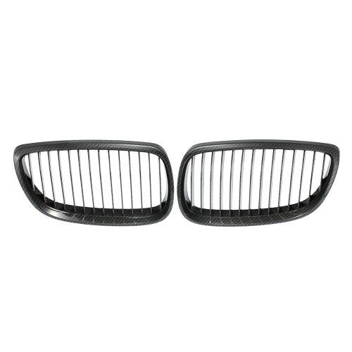 Buy One Pair Car Front Grille Carbon Fiber Decoration Grilles BMW E92 2 Door 2006-2010