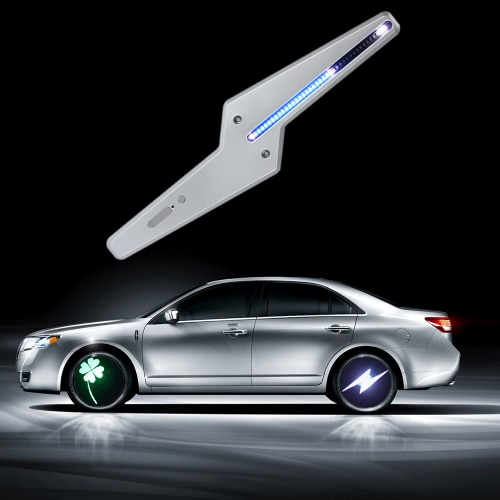 Buy Car Colorful LED Wheel Light Super Cool Autimatic Shine Lamp Programmable 50 Patterns DIY Flash Animation