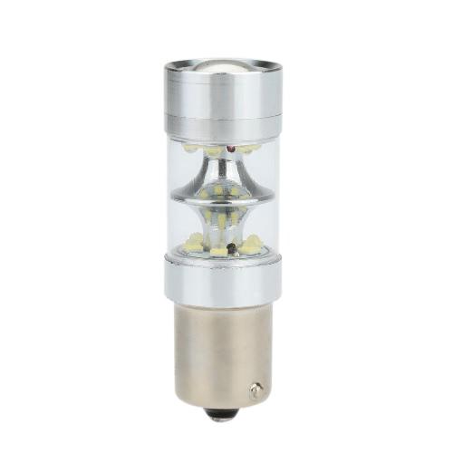 Buy 1156 18 SMD Car White LED Bulb Rear Brake Backup Turn Signal Light