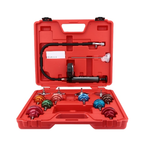 Buy Cooling System Tester Radiator Pressure Test Gauge Set Garge Tool