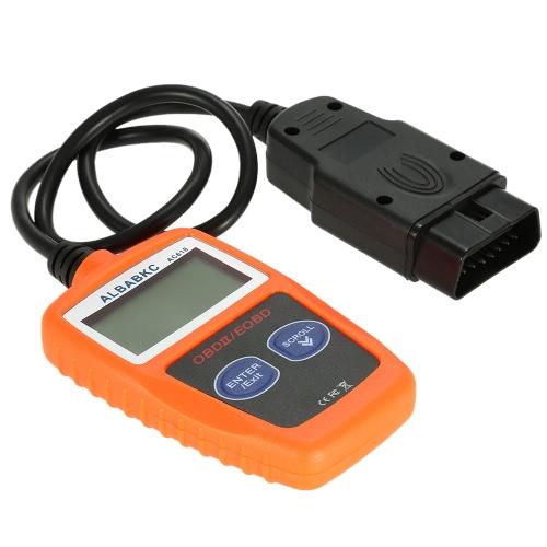 Buy ALBABKC AC618 OBD OBDII Auto Car Diagnostic Scan Tool Code Reader Scanner Support Protocols