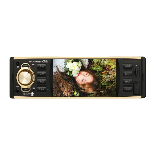 $3 OFF 4.1 inch Universal TFT HD Digital Screen Car Radio MP5 Player,free shipping $33.49