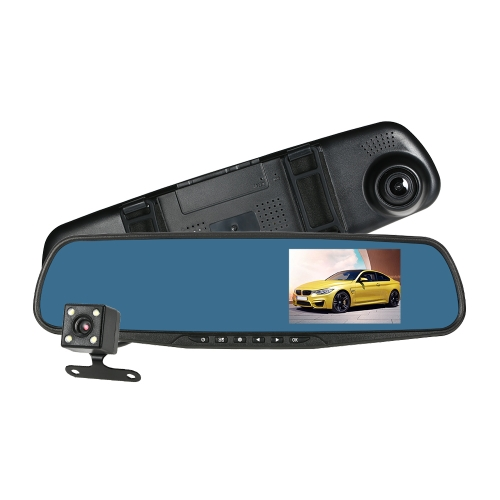 KKmoon Dual Lens Car DVR Video Camera Recorder,limited offer $26.99