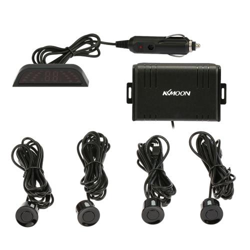 Buy KKmoon 4 Sensors Parking Assist System Car Sensor Reverse Radar Alert Wireless LCD Display