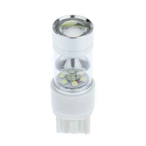 Buy 7443 18 SMD Car White LED Bulb Rear Brake Backup Turn Signal Light