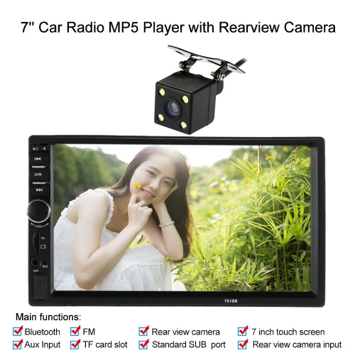 Buy 7 inch2 Din HD Car Stereo FM Radio MP5 Player
