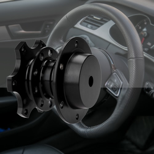 Steering Wheel Quick Release Boss Snap Off Hub Adapter 6 Hole