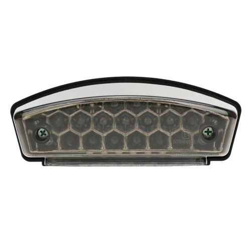 Buy 12V 21 LEDs Universal Motorcycle E-Bike 3 1 Rear Tail Brake Stop Running Light License Plate Lamp