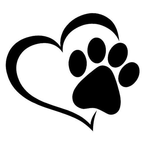 Buy 11*9.3CM Dog Heart Shape Pattern Paws Car Sticker Footprint Reflective Auto Waterproof Sun Resistant Window Sheeting 3D Windshield Decal Rear Outside Styling Vehicle Decoration Affixed Cover Laptop Truck Accessories