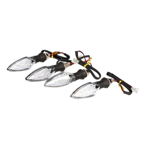 Buy 12V 16LED Motorcycle Motorbike Turn Signal Indicators Light + Flasher Relay
