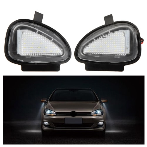 Pair LED Side Mirror Lamps VW Golf 6 Cabriolet Passat (B7) Touran