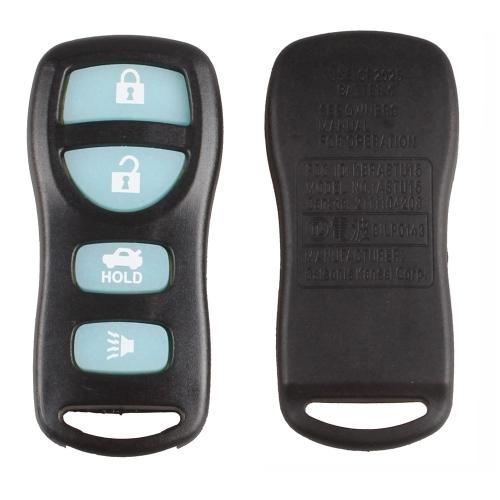 New Glow Dark 4 Button Keyless Entry Remote Key Fob Clicker Transmitter Nissan Infiniti