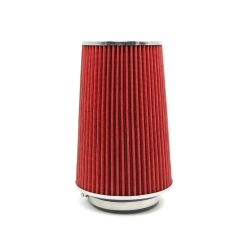 "Universal Car 3"" Air Filters Clamp-On Stack Filtration Cold Air Intake Filters Dual Funnel Adapter Works For 76-89-101mm"