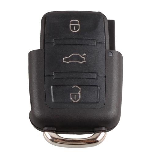 Buy 3 Button Remote Flip Key Fob Case Shell Part Cover VW Golf Bora Jetta Passat Polo Volkswagen