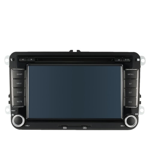 Buy 7 Inch HD Digital Touch Screen Car DVD Player Radio PC Stereo Head Unit GPS Navigation Bluetooth Multimedia VW Volkswagen SAGITAR JETT PASSAT CC SKODA+ Free Map +Free Card