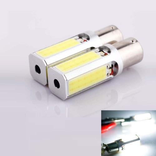 Buy 2 x 1156 BA15S 24W High Power Auto Vehicle COB LED Light Bulbs Turn Signal Backup Reverse