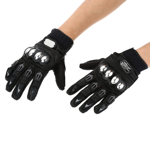 Buy Pro-biker Full Finger Motorcycle Cycling Racing Riding Protective Gloves-TOMTOP