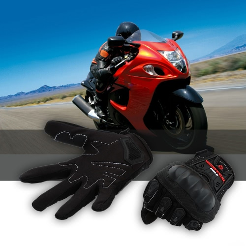Scoyco MC12 Full Finger Carbon Safety Motorcycle Cycling Racing Riding Protective Gloves