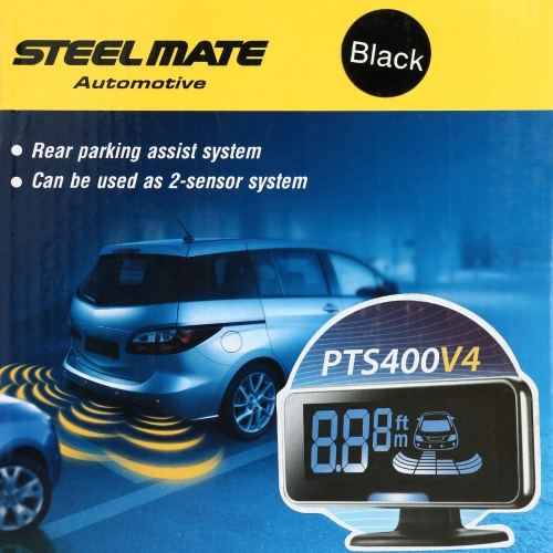 Buy Steelmate PTS400V4 Parking Assist System Car Sensor Reverse Radar Alert