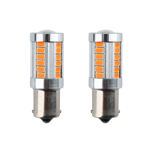 Buy 2 X 5630 33-SMD 850LM LED Car Turn Signal Brake Tail Light Lamp Bulb 1156 Socket Red Amber