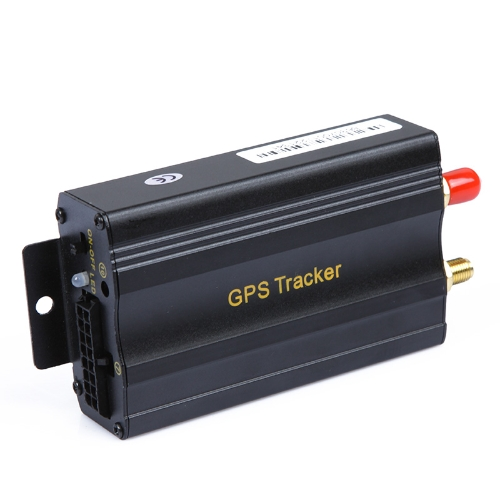 Buy 2SIM/GPRS/GPS/GSM Vehicle Car Tracker Real-time Tracking Alarm System Google Map 103A+