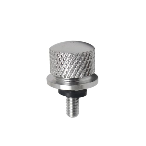 Buy 6mm Motorbike Knurled Seat Screw Bolt Rear Quick Mount Motorcycle Harley Davidson