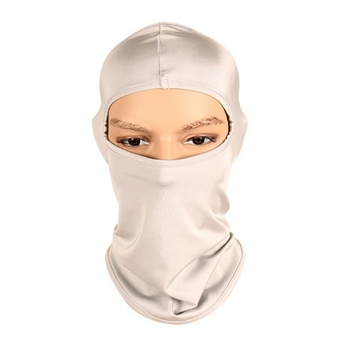 Softer Sports Equipment Outdoor Motorcycle Cycling Ski Fishing Neck Protecting Windproof Dustproof Full Face Mask